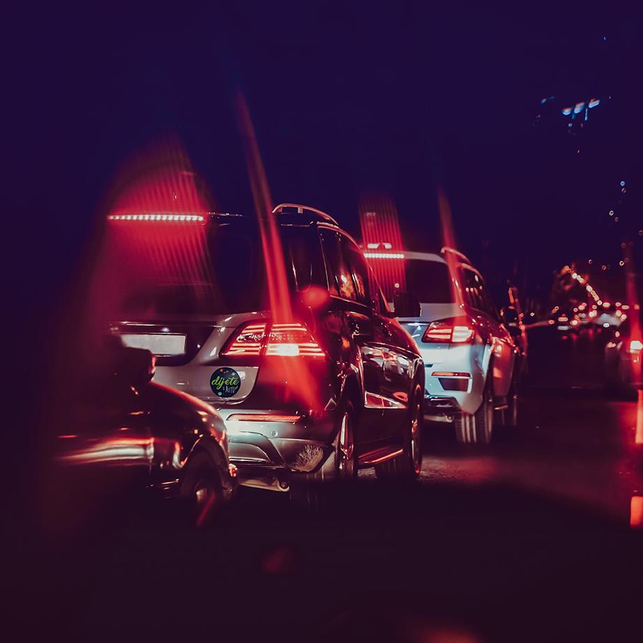 svemir na autu