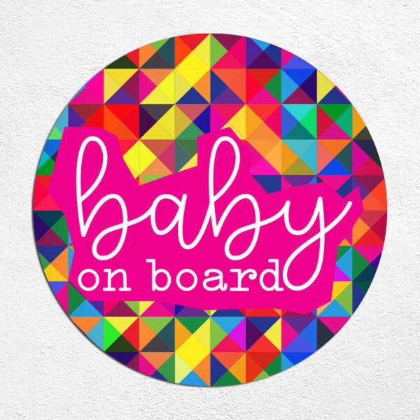 Samoljepljiva autonaljepnica - Baby on board
